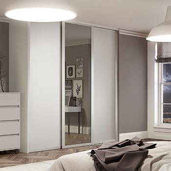 Charmant Shaker Sliding Wardrobe Doors