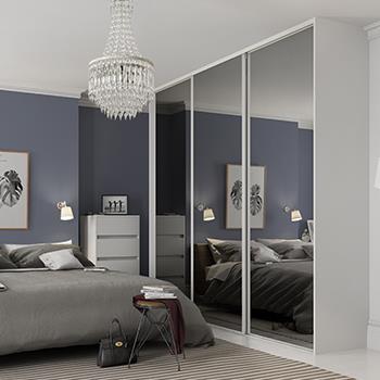 Image result for built-in sliding wardrobes